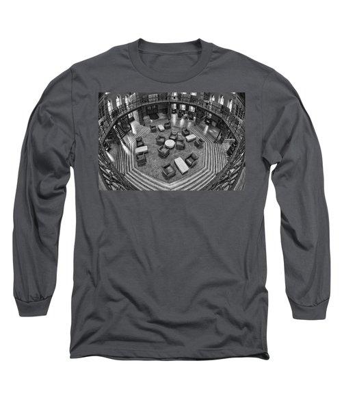 Escher's Study Long Sleeve T-Shirt
