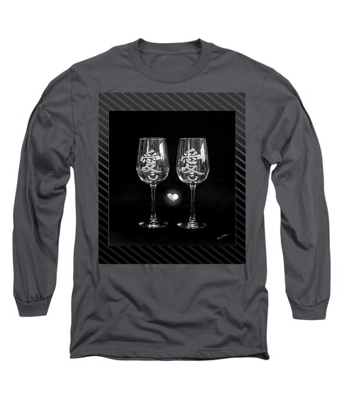 Etched With Love Long Sleeve T-Shirt by Wendy McKennon