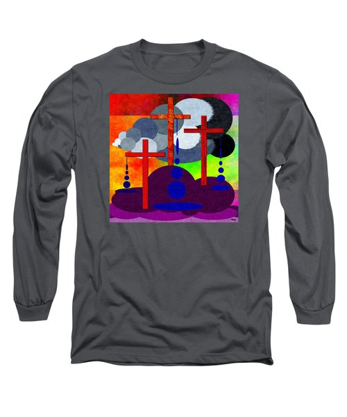 Long Sleeve T-Shirt featuring the digital art Eternal Consequences by Glenn McCarthy Art and Photography