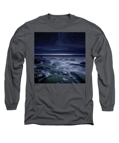 Eternal Horizon Long Sleeve T-Shirt by Jorge Maia