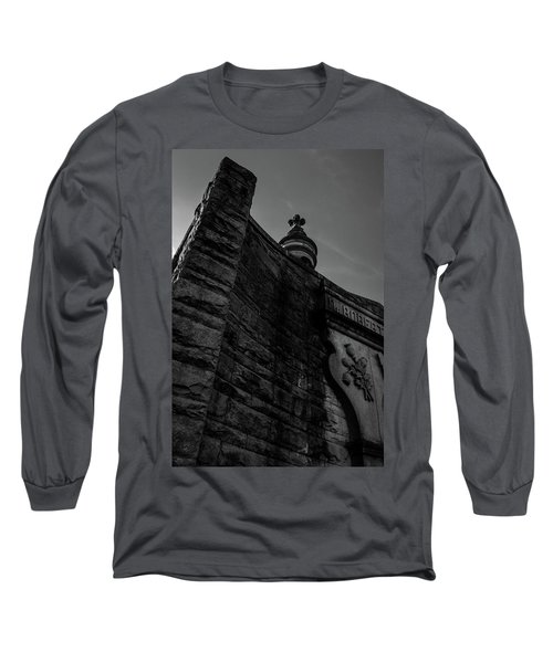 Eternal Stone Structure Bw Long Sleeve T-Shirt
