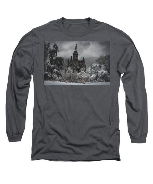 Long Sleeve T-Shirt featuring the digital art Eternal Winter by Chris Lord