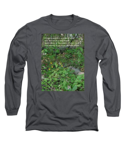 Eternity In An Hour Long Sleeve T-Shirt by Deborah Dendler