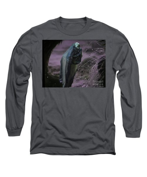Long Sleeve T-Shirt featuring the digital art Eternity by Lyric Lucas