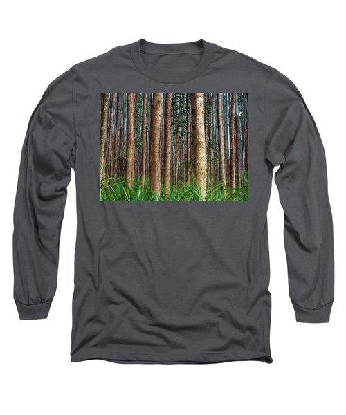 Eucalyptus Forest Long Sleeve T-Shirt