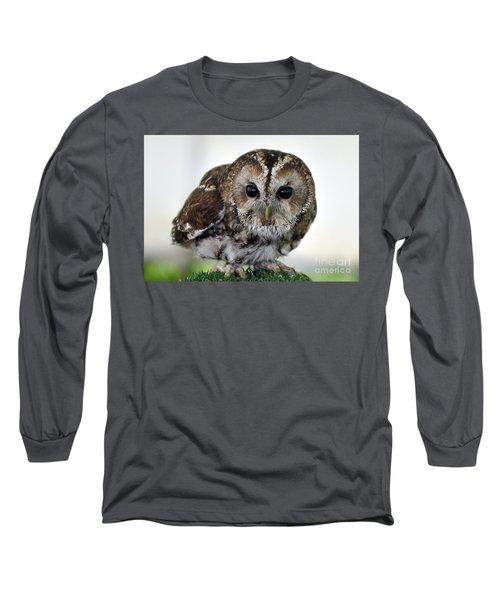 Eurasian Tawny Owl Long Sleeve T-Shirt