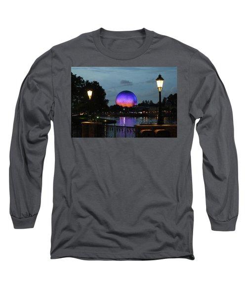 Evening At Epcot Long Sleeve T-Shirt