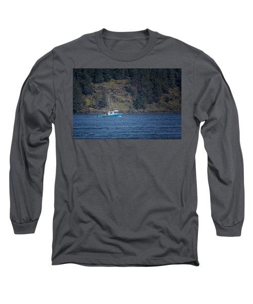 Evening Breeze Long Sleeve T-Shirt by Randy Hall