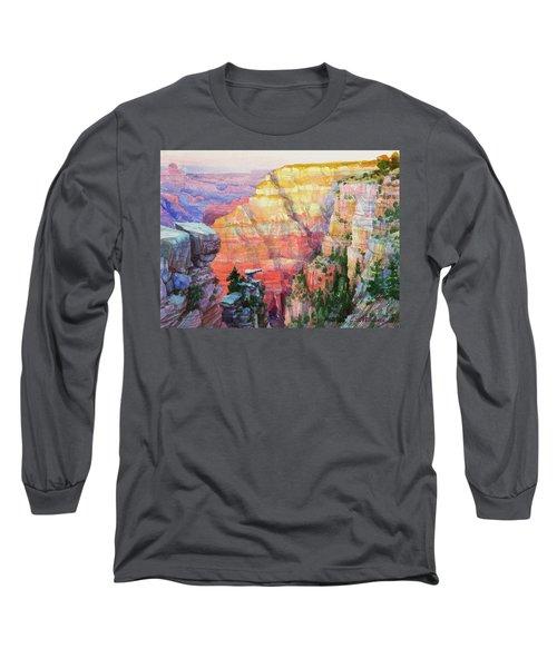 Evening Colors  Long Sleeve T-Shirt
