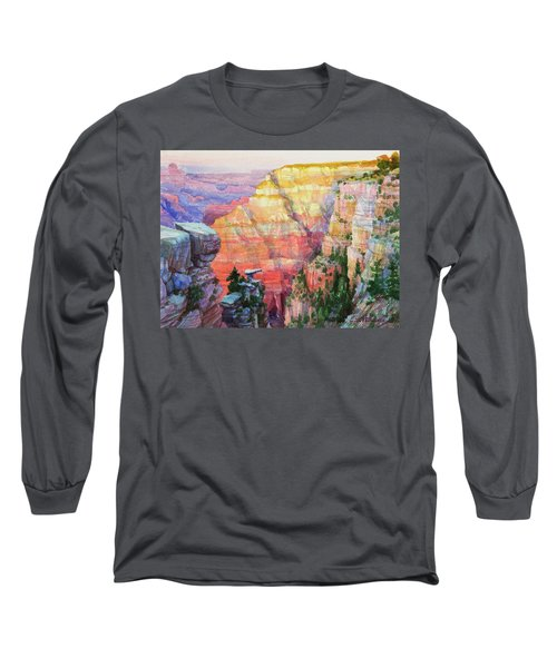 Evening Colors  Long Sleeve T-Shirt