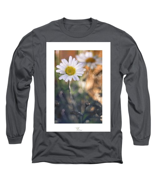 Evening Daisy Long Sleeve T-Shirt