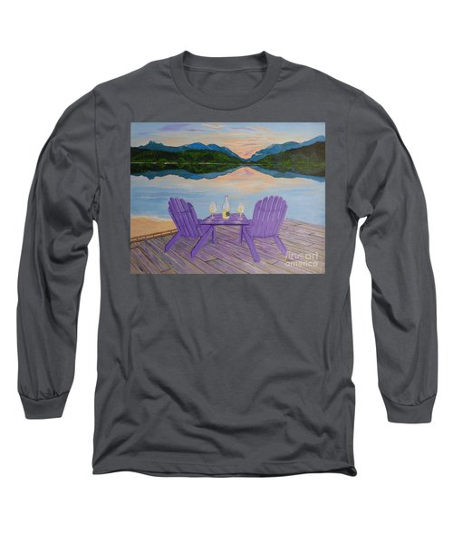 Evening Delight Long Sleeve T-Shirt