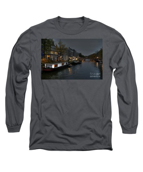 Evening In Amsterdam Long Sleeve T-Shirt