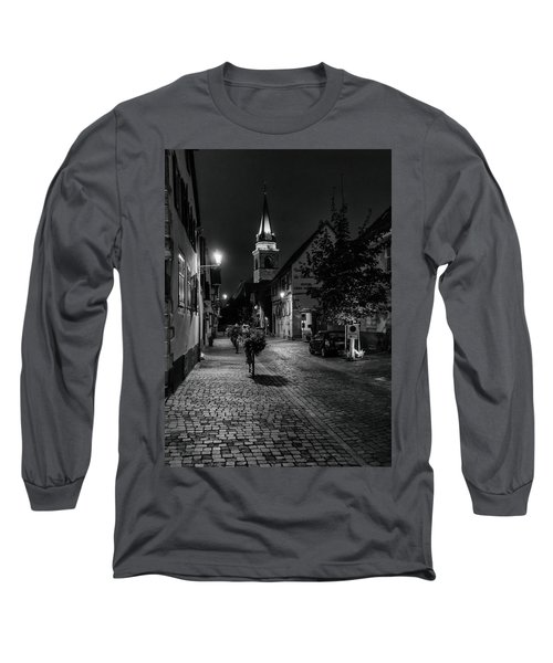 Long Sleeve T-Shirt featuring the photograph Evening In Bergheim by Alan Toepfer