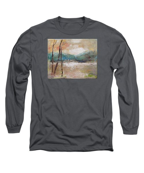 Evening In Fall Long Sleeve T-Shirt by Becky Kim