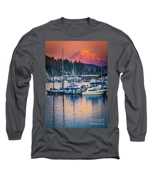 Evening In Gig Harbor Long Sleeve T-Shirt
