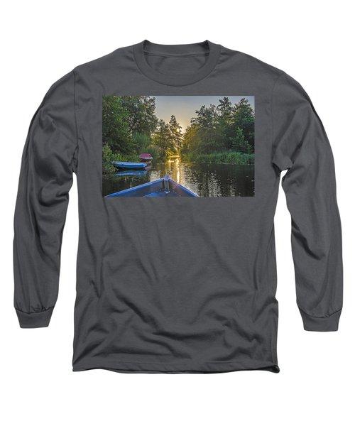 Evening In Loosdrecht Long Sleeve T-Shirt