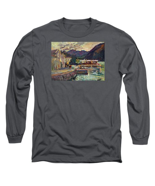 Evening In Prcanj Long Sleeve T-Shirt
