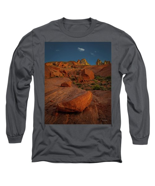 Evening In The Valley Of Fire Long Sleeve T-Shirt