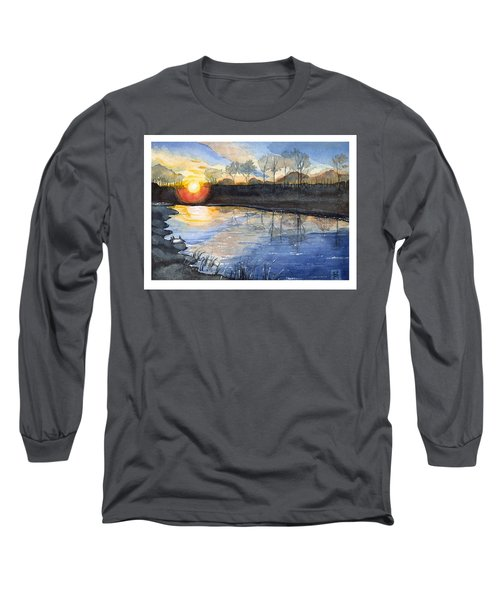 Evening Long Sleeve T-Shirt by Katherine Miller