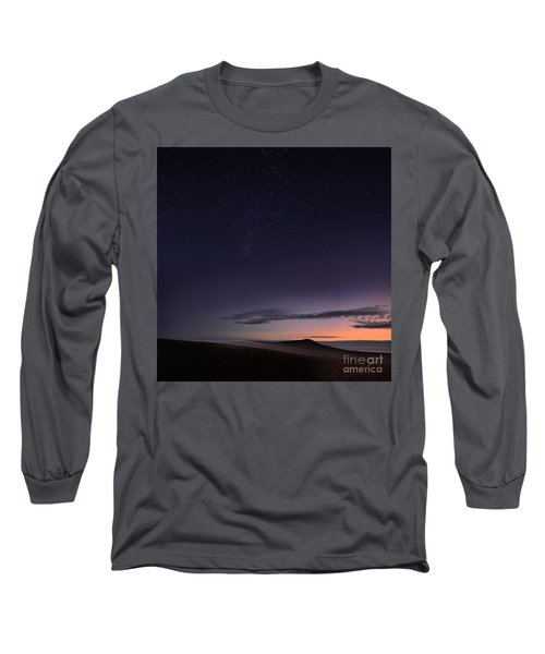 Evening Mist Rising On The Cronk Long Sleeve T-Shirt