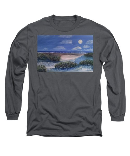 Evening Moon Long Sleeve T-Shirt