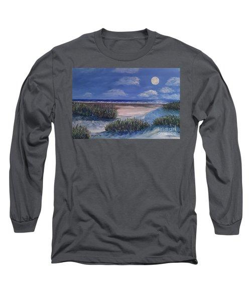 Evening Moon Long Sleeve T-Shirt
