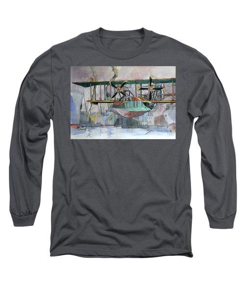 Evening Patrol Long Sleeve T-Shirt by Ray Agius
