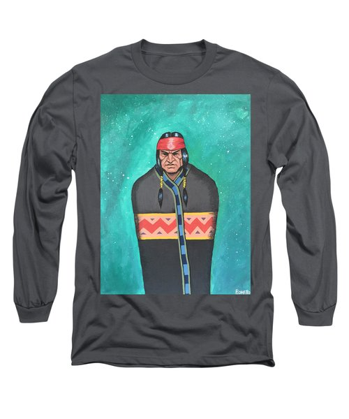 Long Sleeve T-Shirt featuring the painting Evening Prayer by Antonio Romero