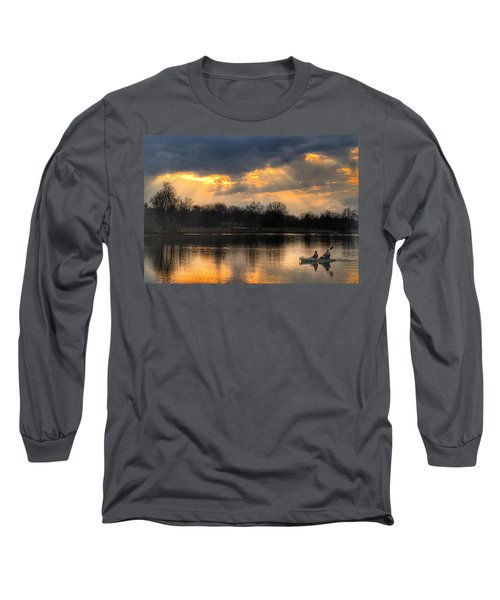 Evening Relaxation Long Sleeve T-Shirt