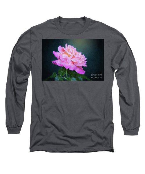 Evening Rose Long Sleeve T-Shirt