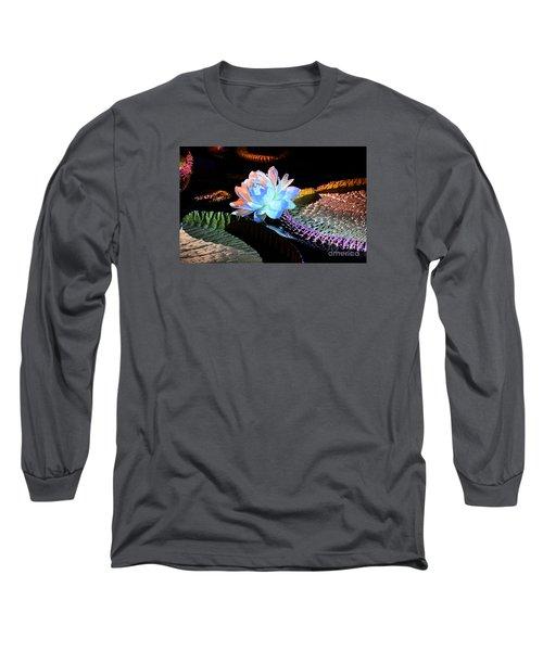 Evening Splendor Long Sleeve T-Shirt by Cindy Manero