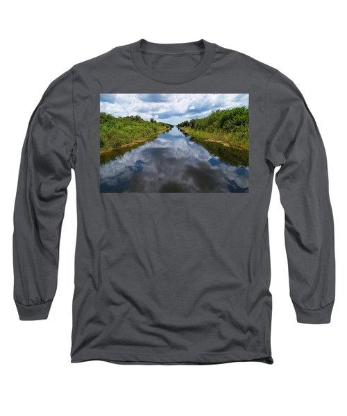 Everglades Canal Long Sleeve T-Shirt