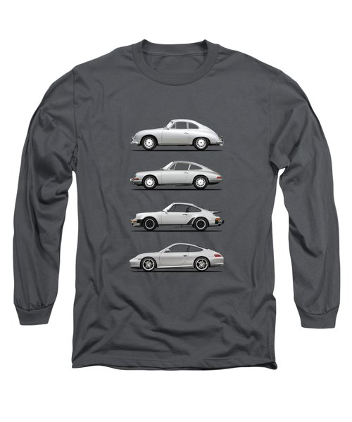 Evolution Of The 911 Long Sleeve T-Shirt