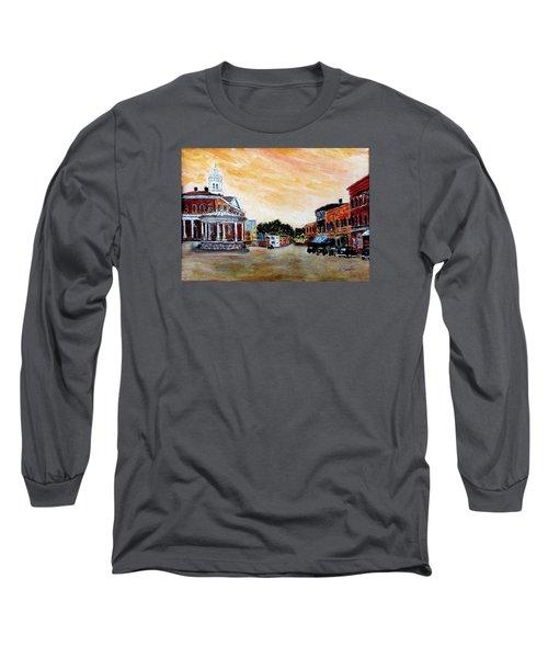 Exeter Nh Circa 1920 Long Sleeve T-Shirt