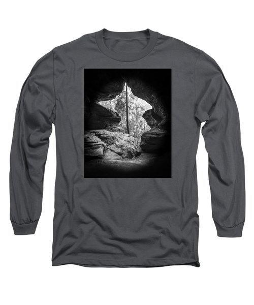 Exit Long Sleeve T-Shirt by Alan Raasch