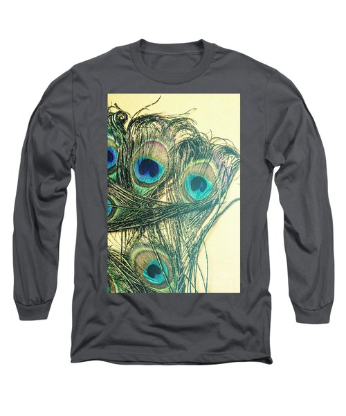 Exotic Eye Of The Peacock Long Sleeve T-Shirt