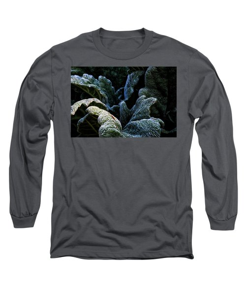Experiencing Green Long Sleeve T-Shirt
