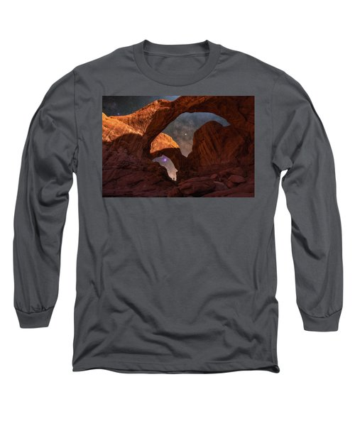 Long Sleeve T-Shirt featuring the photograph Explore The Night by Darren White