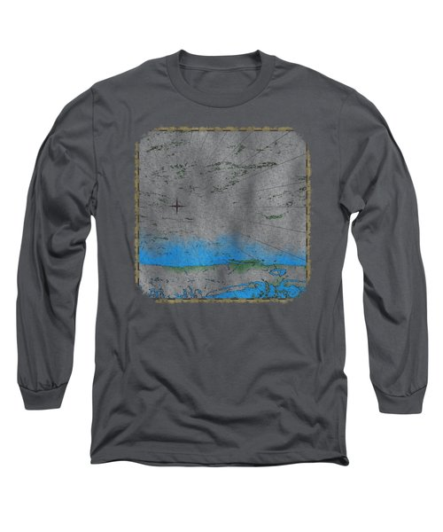 Explorer Gray Long Sleeve T-Shirt