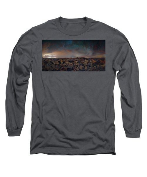 Exploring The Bisti Badlands Of New Mexico Long Sleeve T-Shirt
