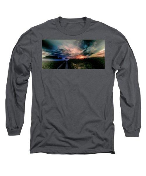 Explosive Morning #h0 Long Sleeve T-Shirt