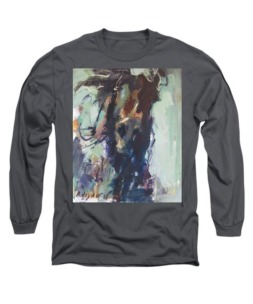Long Sleeve T-Shirt featuring the painting Expressive by Robert Joyner