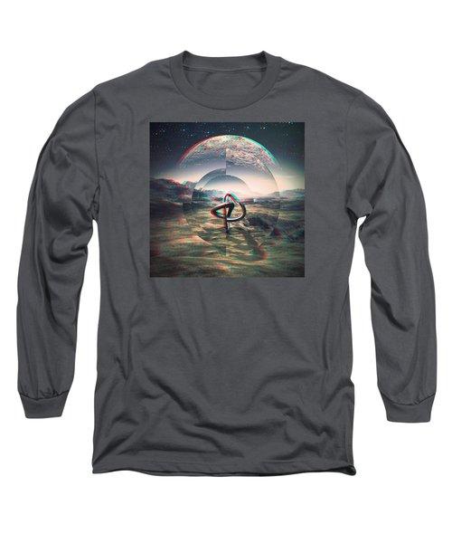Extinction Long Sleeve T-Shirt by Jorge Ferreira