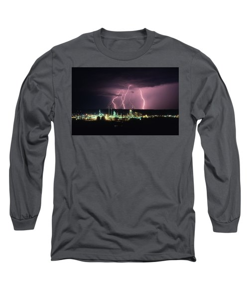 Exxon Lightning Long Sleeve T-Shirt