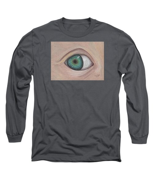 Eye Long Sleeve T-Shirt by Brenda Bonfield