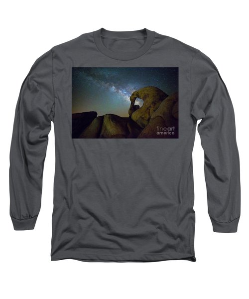 Eye Of The Milky Way Long Sleeve T-Shirt