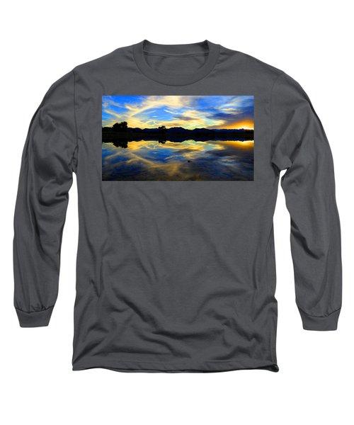 Eye Of The Mountain Long Sleeve T-Shirt