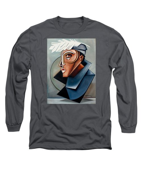 Eye Of The Watched Divine / Zora Neale Hurston Long Sleeve T-Shirt