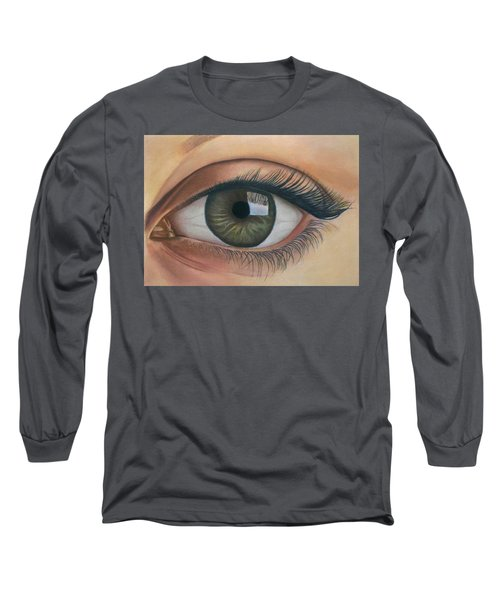 Eye - The Window Of The Soul Long Sleeve T-Shirt